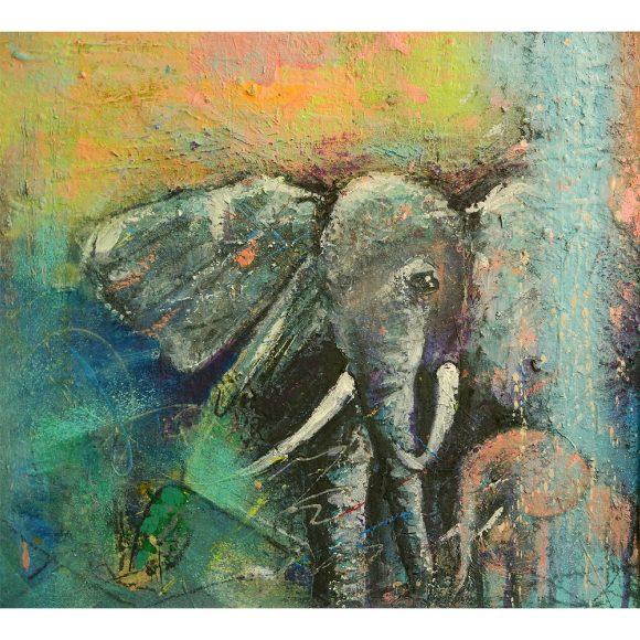 Рождение розового слонёнка Кузнецова Светлана