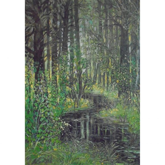 Ручей в лесу Мицник Александр