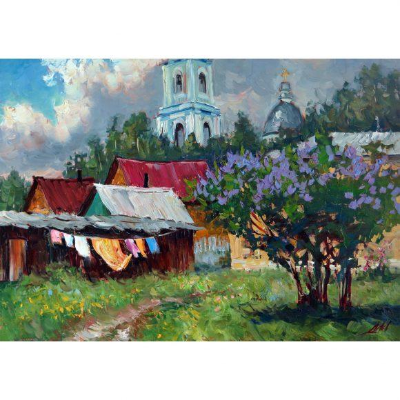 В бабушкином дворе Мантров Дмитрий