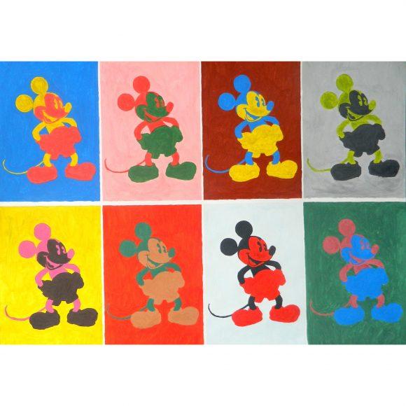 Восемь Микки Мауса Art Simia