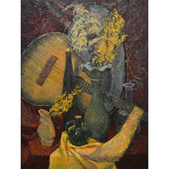 Натюрморт с гитарой Блинова Юлия