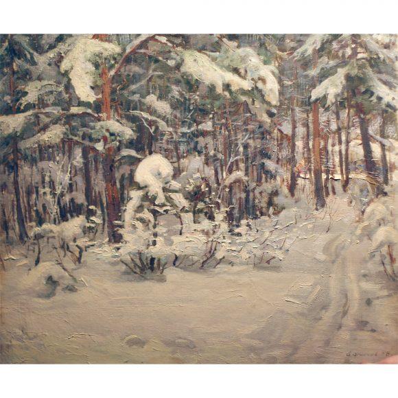 Зимний лес Фирсов Алексей