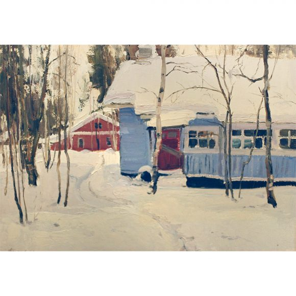 Дачка зимой Фирсов Алексей