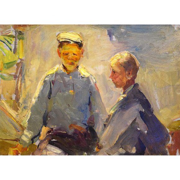 Два мальчика Лежников Юрий