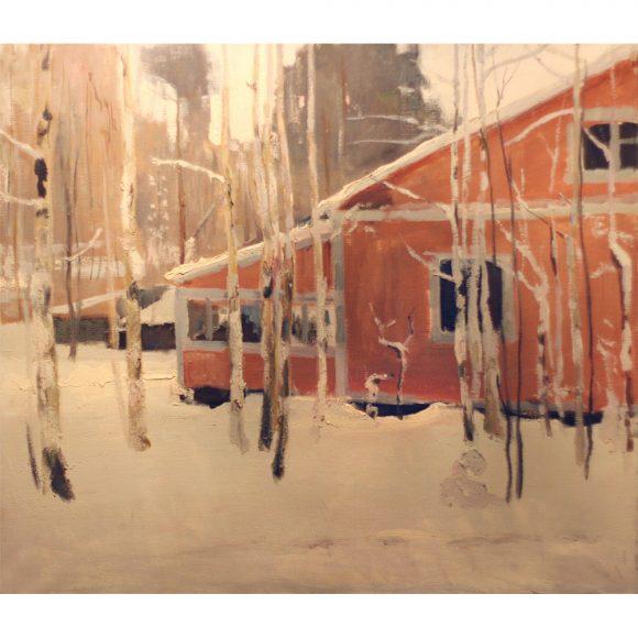Зимой на даче Фирсов Алексей