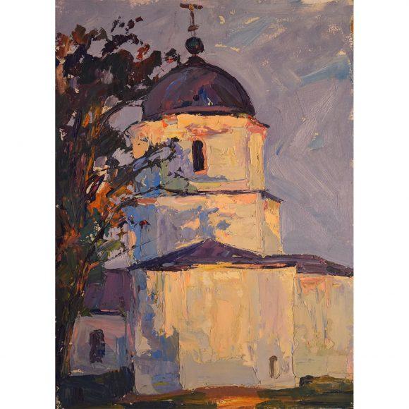 Сельская церковь Лежников Юрий