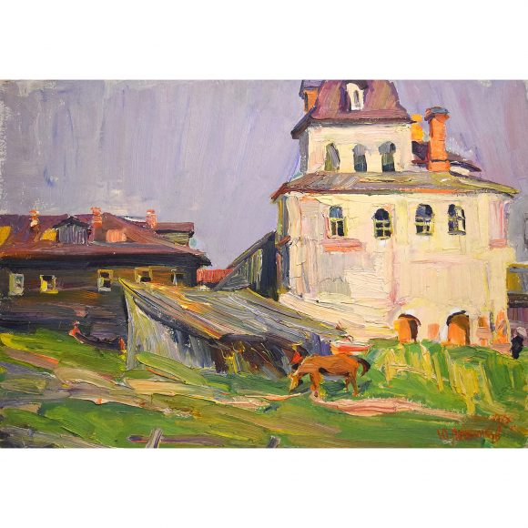 Северная деревня Лежников Юрий