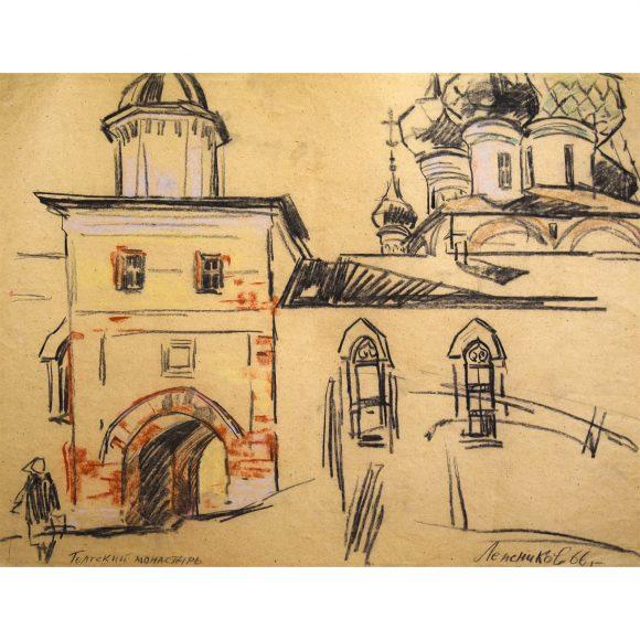 Толгский монастырь. Близ Ярославля Лежников Юрий