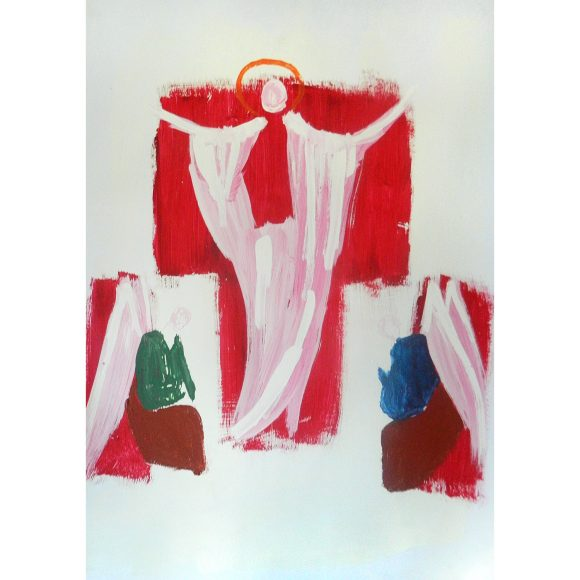 Abstract icon Art Simia