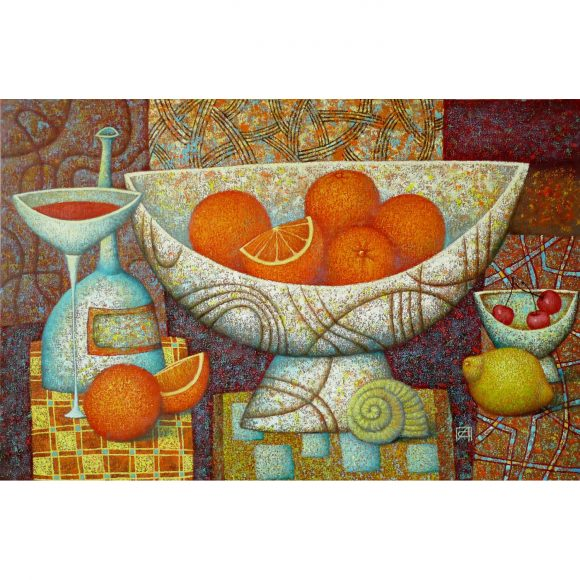 Натюрморт с апельсинами Сулимов Александр