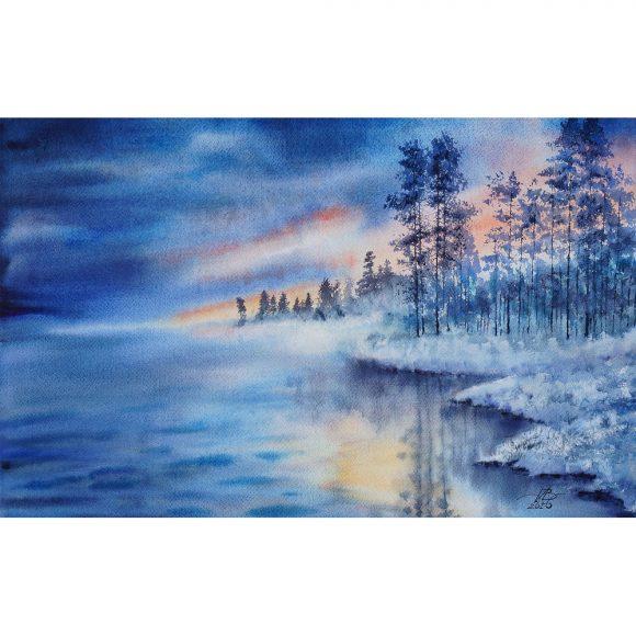 Холодный закат Дубовой Игорь