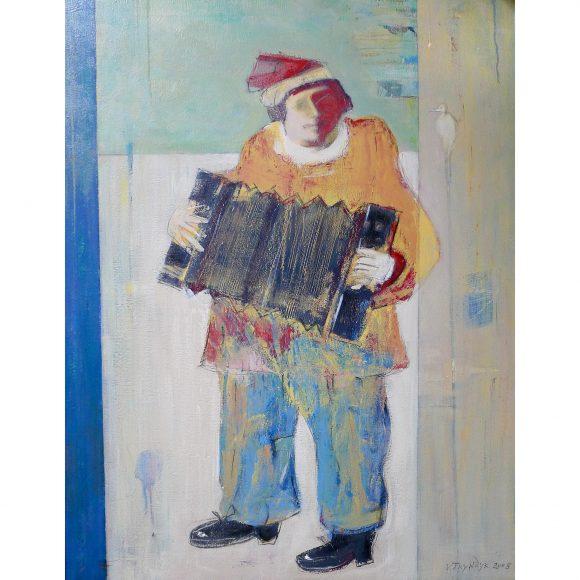 The accordion player Трындык Василий