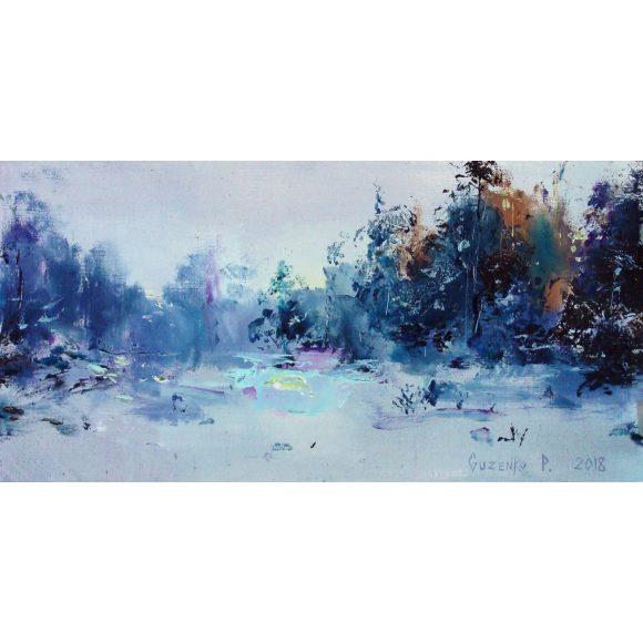 Зимний пейзаж-2 Гузенко Павел