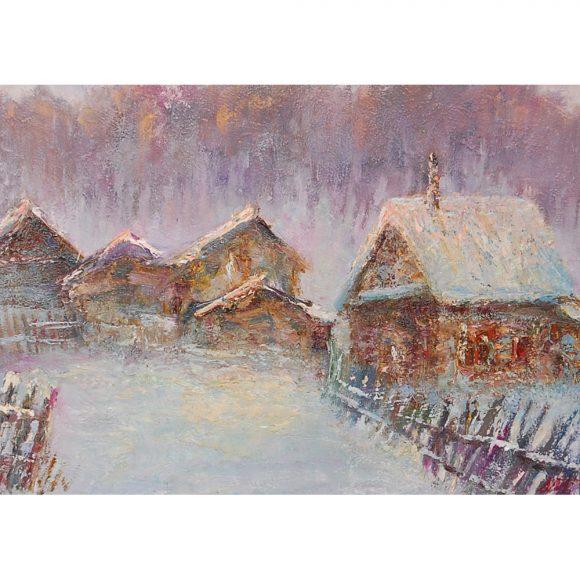 Морозный вечер Мантров Дмитрий