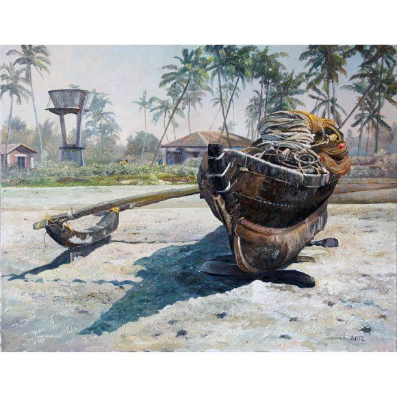 Индийская рыбацкая лодка Липко Андрей