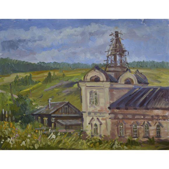 Старая церквушка Хатмулина Ольга
