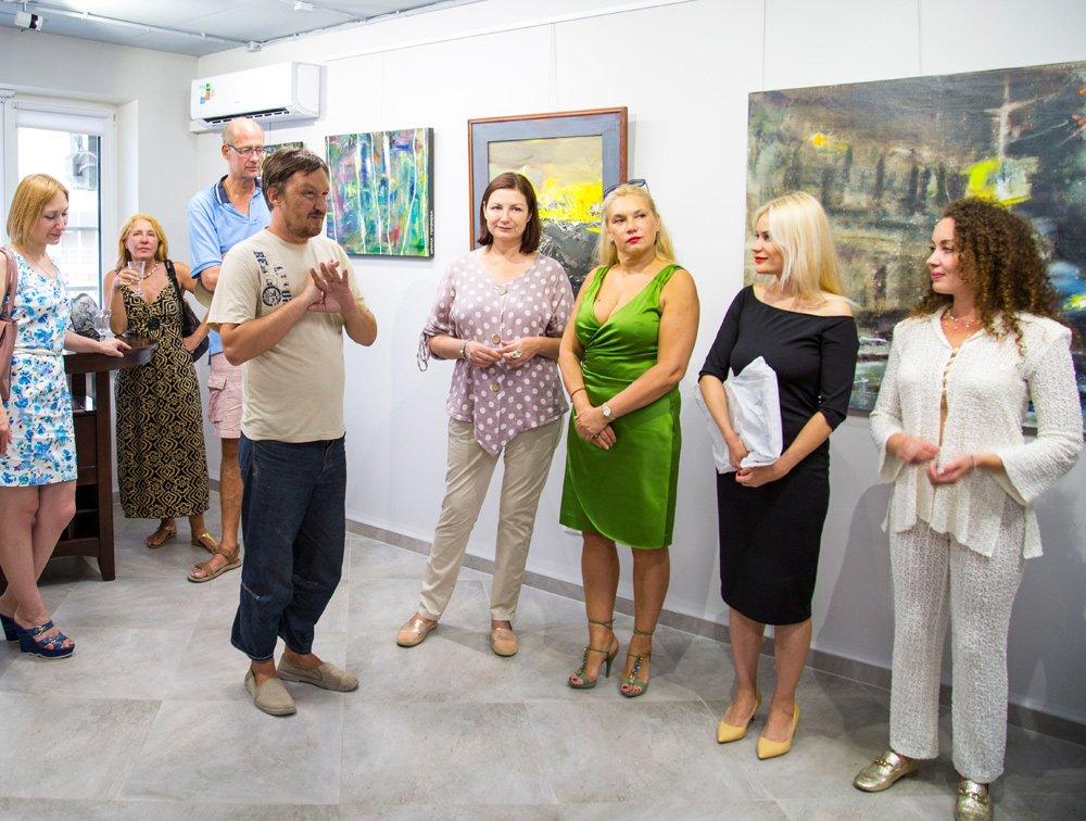 Фото-отчет с Открытия 5-го сезона Russian Art Park в галерее Dorothea (Краснодар)