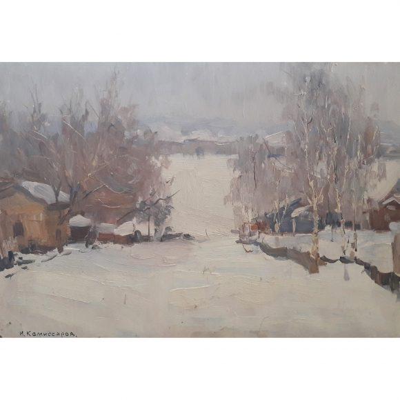 Зима Комиссаров Иван