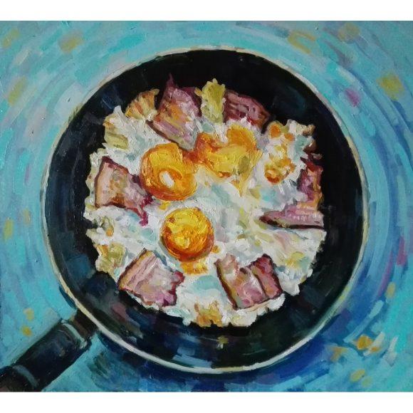 Яичница на завтрак Вагнер Александр