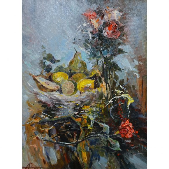 Розы и фрукты Никитин Артём