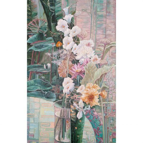Цветы. Модерн (правая часть диптиха) Семернин Сева