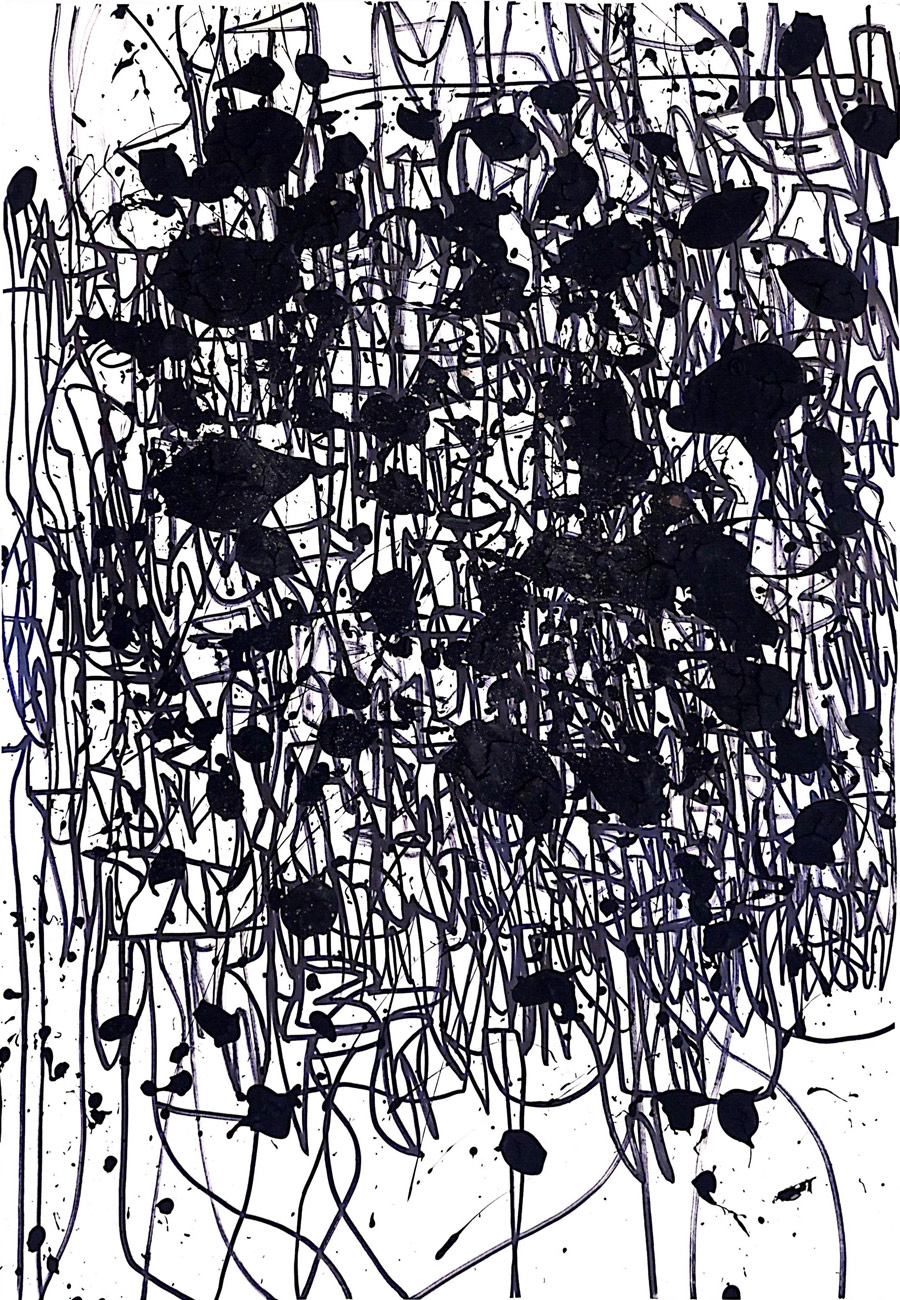 """Выставка графики """"ЗА ГРАНЬЮ ЯЗЫКА Etc"""" в галерее Dorothea (г.Краснодар)"""