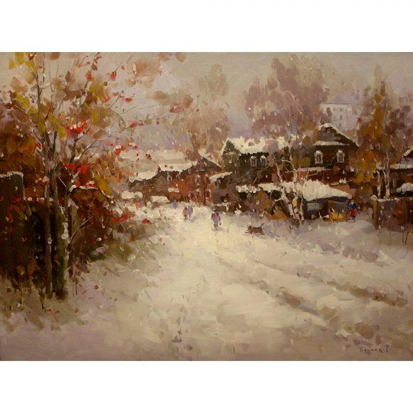 Первый снег — Зеленодольск Биляев Роман