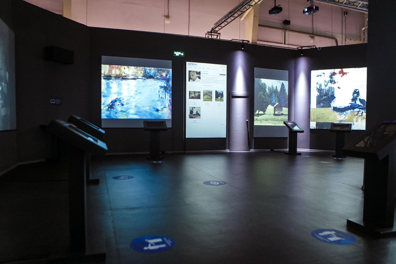 Фотоотчёт с открытия выставки «АРТ-МОСТ: От холста к цифре» (Казанская Ярмарка)