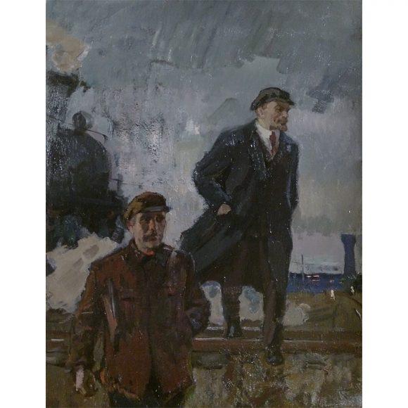 Ленин на путях Фирсов Алексей