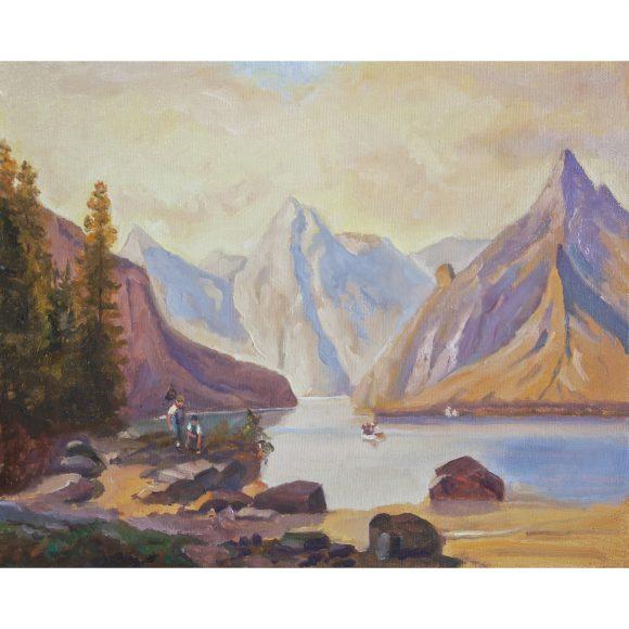 На берегу горного озера Кугель Александр