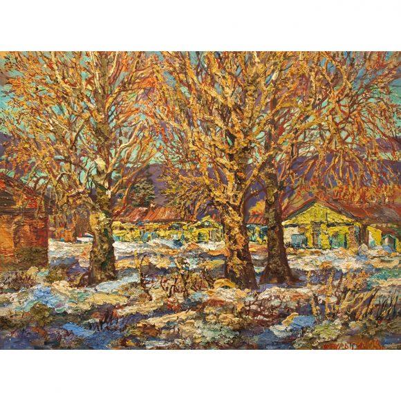 Весенний пейзаж Пурыгин Валентин