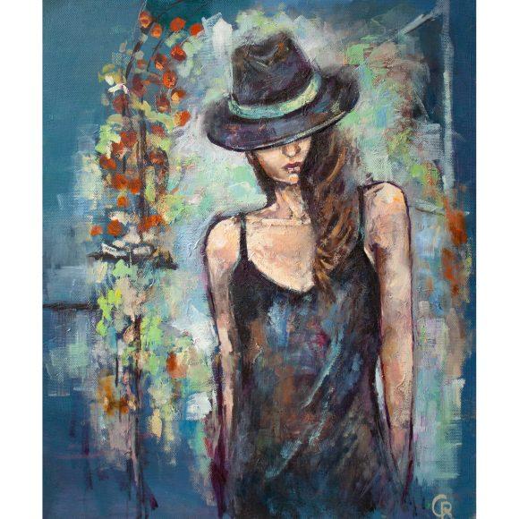 Девушка в шляпе Гердт Рина