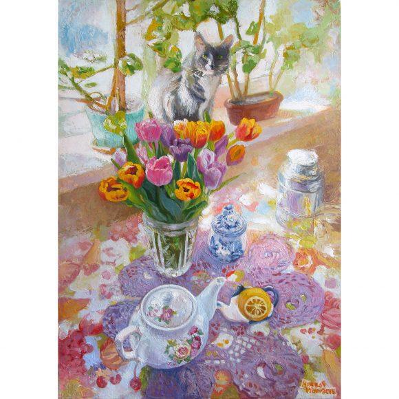 Дуся и цветы Крюков Иван