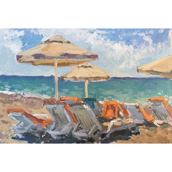 Пляжные зонтики Островская Елена