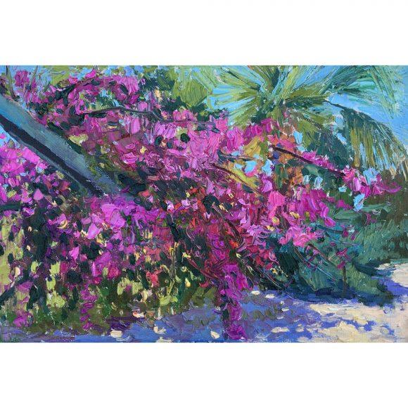 Цветущий куст Островская Елена
