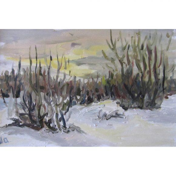 Зимний закат Шарипова Ирина