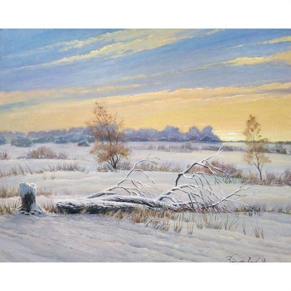 Зимний закат Заборских Игорь