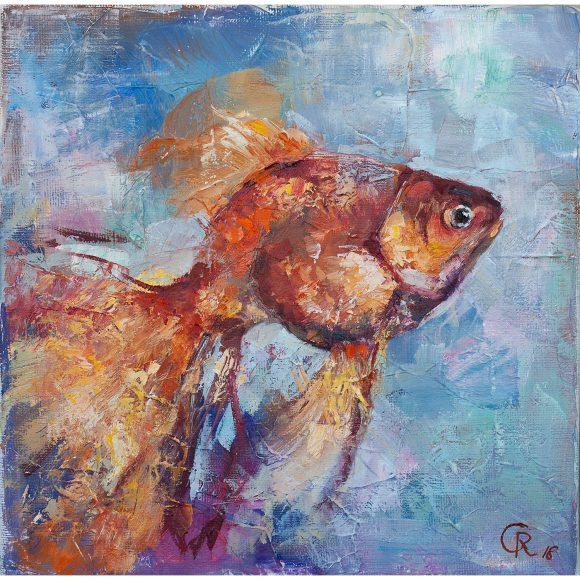 Золотая рыбка Гердт Рина