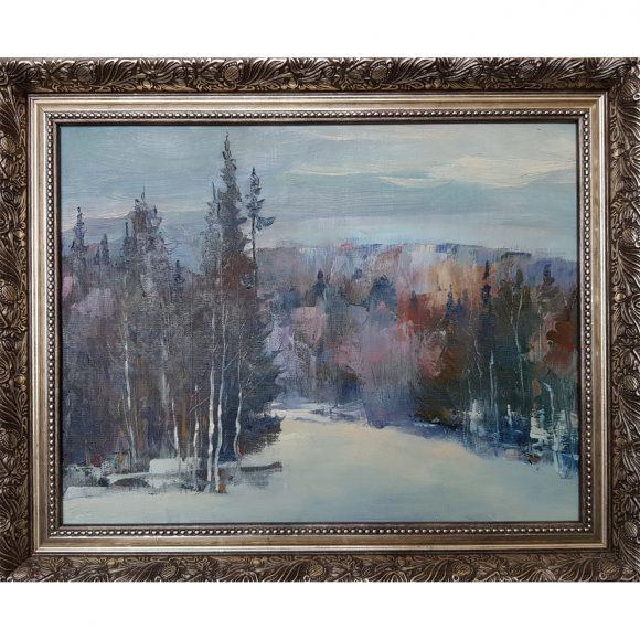Вечер в лесу Сызранов Антон