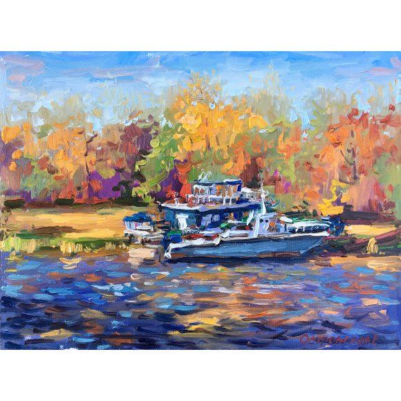 Осенний кораблик Островская Елена