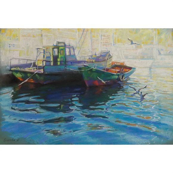 Зеленые лодочки. Балаклава Есипова Анна