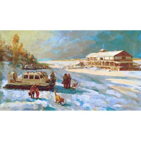 Зимняя переправа Мишагин Андрей