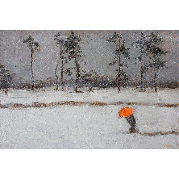 Неоновый зонт Коденцева Александра
