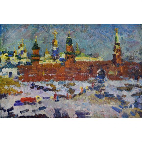 Снег и Кремль Меринов Алексей