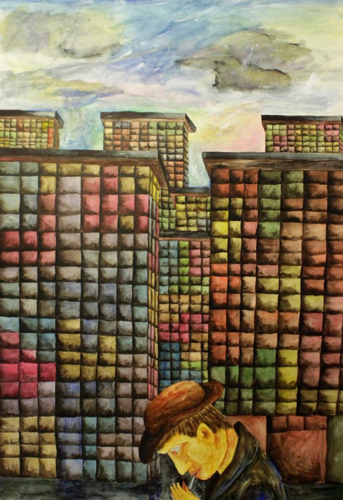 Выставка в Казани #Лица_абстракции