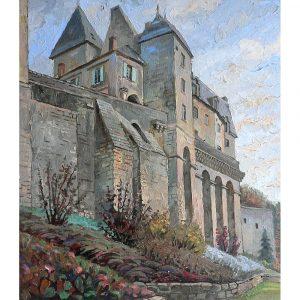 Замок г. Пон --Le-chateau-de-Pons